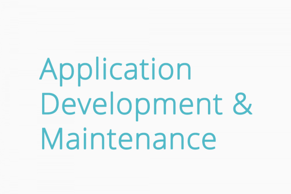 Application Development & Maintenance